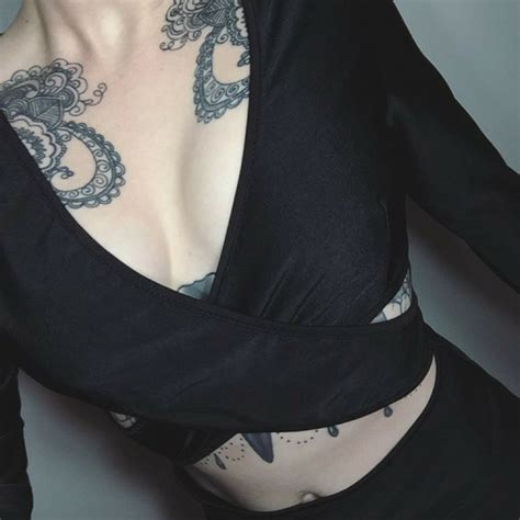 breast tattoos tumblr with chest tattoos