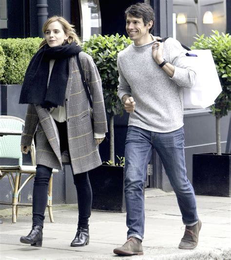emma watson dan william mack knight emma watson looks delighted as she steps out with new