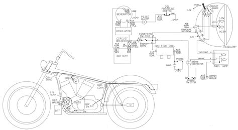 sportster headlight wiring diagram choice image wiring