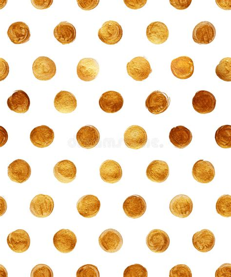gold pattern paint gold foil polka dot seamless pattern paint stain abstract