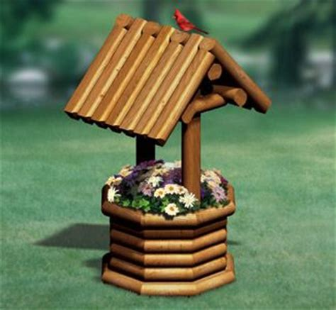 Landscape Timber Hexagon Landscape Timber Wishing Well Plans Free Woodworking