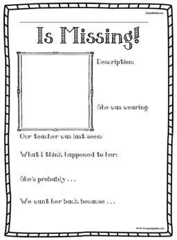 printable missing poster template miss nelson miss viola sw miss nelson is missing