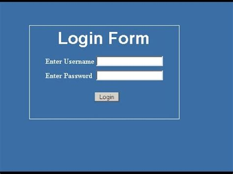 asp.net Login with Session and LogOut - YouTube Login Asp
