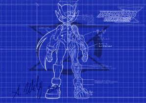 rockman zero blueprint by mgnemesi on deviantart
