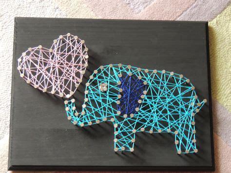 Elephant String - striing on string white tailed deer