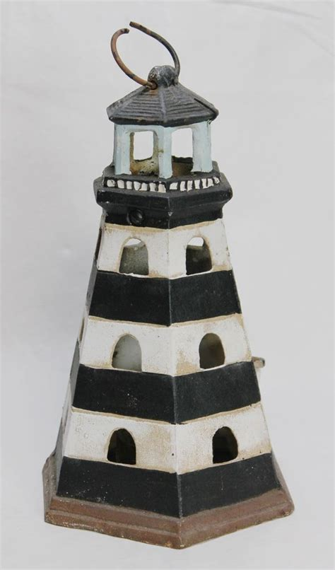 Decorative Lighthouses For In Home Use by Cast Iron Lighthouse Nautical Candle Holder W Hook Indoor