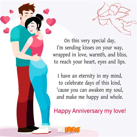 images of love anniversary cute happy anniversary poems for him or her with images