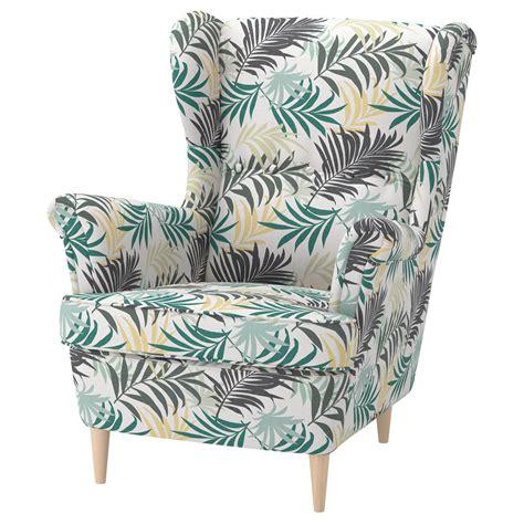 ikea armchair strandmon strandmon wing chair gillhov multicolour ikea