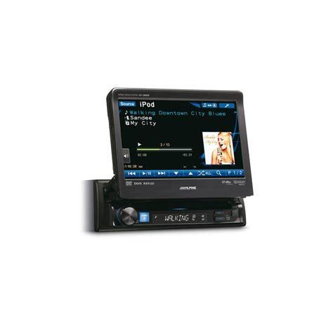 Unit Din Alpine Iva W520e alpine iva d800r flagship multimedia system ipod dvd system