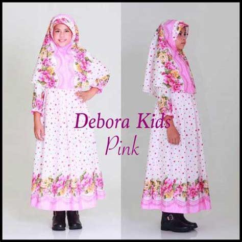 Baju Muslim Anak Perempuan Warna Pink busana muslim anak perempuan lucu bahan maxmara