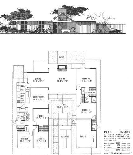 blueprints for new homes awesome eichler homes floor plans new home plans design