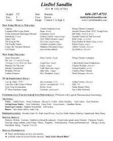 sle musical theatre resume technical theatre resume sales technical lewesmr