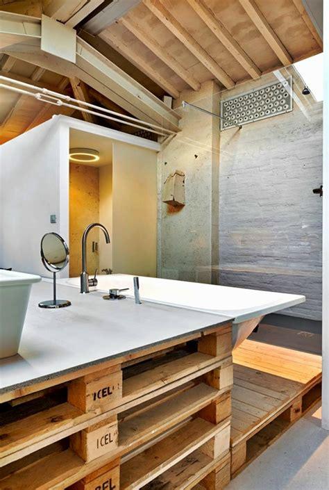 Badezimmer Unterschrank Aus Paletten by 101 Holzpaletten Ideen F 252 R Ihr Stilvolles Zuhause