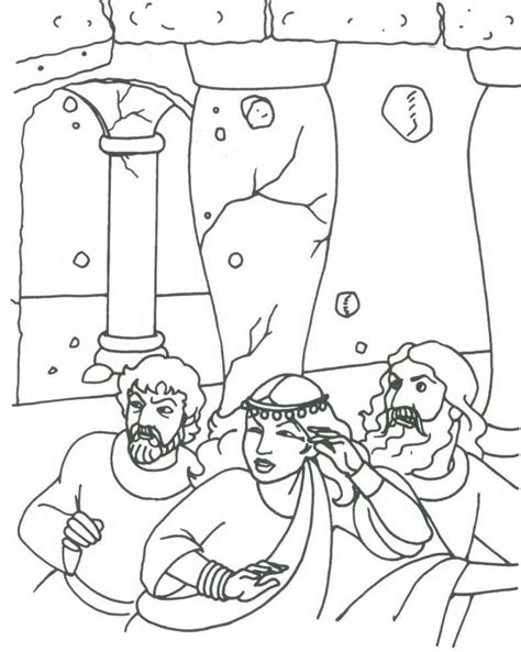 Samson And Delilah Coloring Pages Coloring Home Samson Coloring Page
