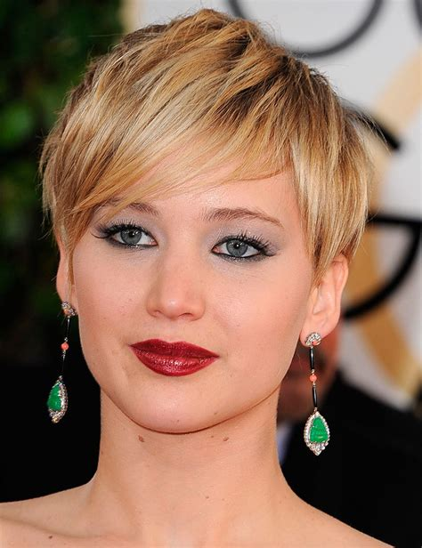 j laws short hair grow out your hair like j law