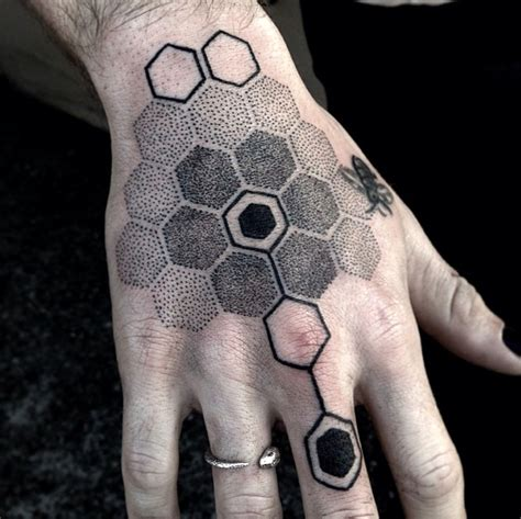 honeycomb tattoos designs ideas and meaning tattoos for you