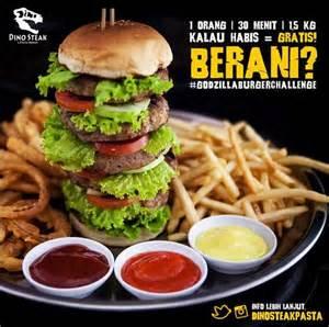 Paling Murah Mouse Stacks Cheese 7 burger paling gede yang enak banget di jakarta