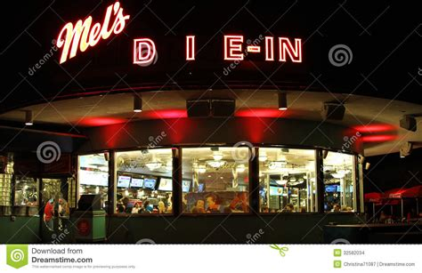 halloween themes restaurant mels die in for halloween horror nights editorial stock
