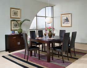 Cappuccino Dining Room Furniture Collection Cappuccino Finish Dining Room Set Dining Room Sets