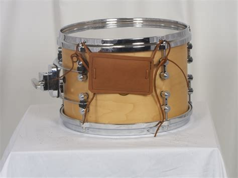 Leather Bumper brown leather snare bumper