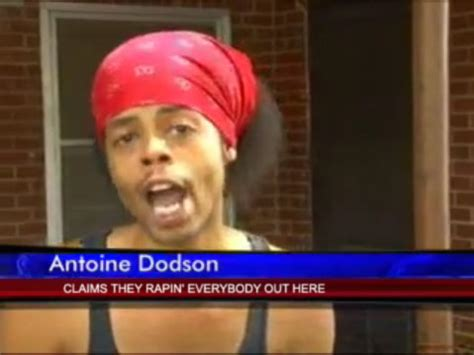 Antoine Dodson Meme - spiked jacket better hide your wife and kids go
