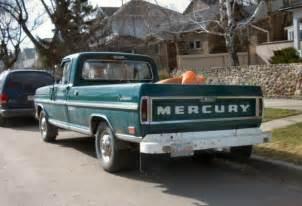 curbside classics mercury trucks we do things a bit