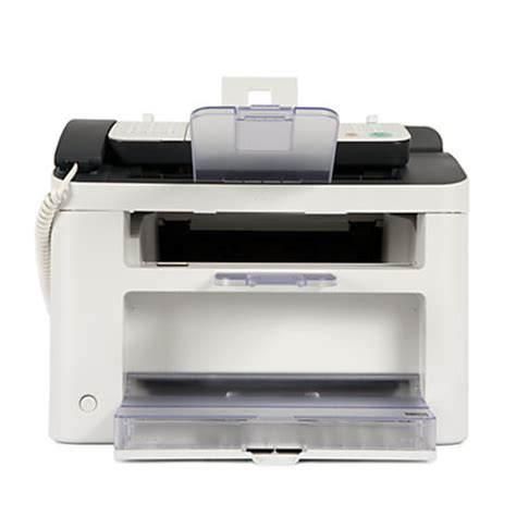 Printer Canon L100 canon faxphone monochrome laser all in one printer copier and fax l100 by office depot officemax