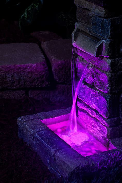 submersible led fountain lights submersible rgb led accent light w remote led candle