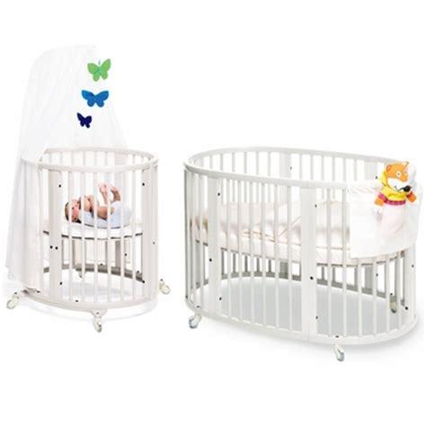Stokke Sleepi Crib System by Stokke Sleepi System I Bassinet And Crib In White With