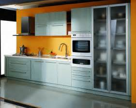 Kitchen Furnitures by China Pvc Kitchen Cabinets Pa4002 China Kitchen