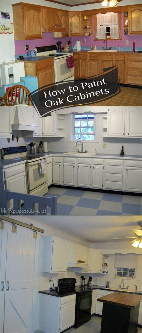 how to paint oak cabinets how to paint oak cabinets my repurposed life 174