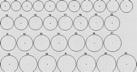 minecraft circle template  minecraft circles