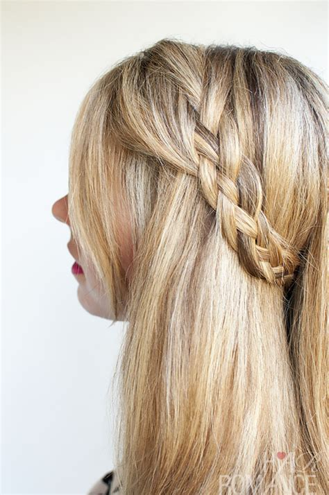 different ways to braid hair to sew in weave hairstyle tutorial four strand braids and slide up