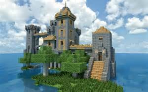 are there any small castles like this minecraft
