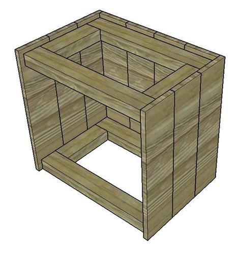 costruire un comodino le istruzioni su come costruire un comodino con