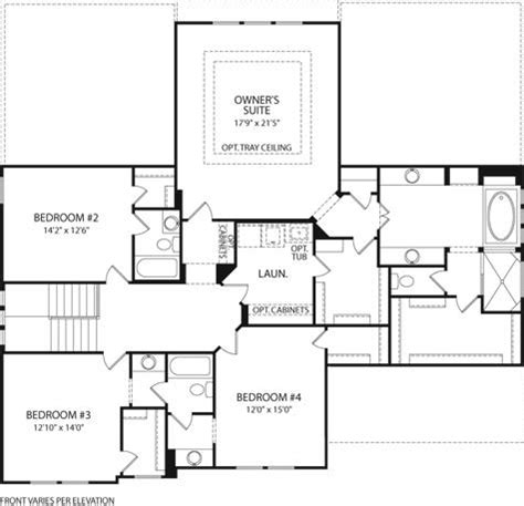 monticello second floor plan monticello at glad hill estates monrovia md