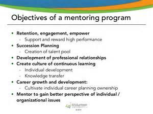 Mentoring Plan Outline by Introducing A Volunteer Mentoring Program Part I