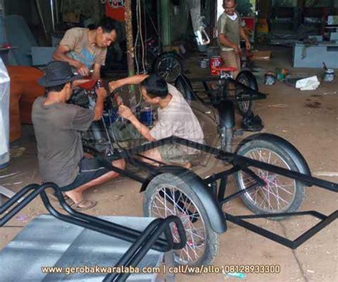 desain gerobak sepeda motor gerobak sepeda kuliner gerobak sepeda custom bandung
