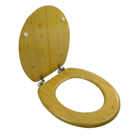 18 toilet seat new 18 quot white wooden toilet seat mdf universal bathroom wc