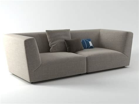 high arm sofa soho high arm sofa 3d model poliform