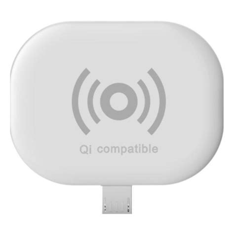 Wireless Charger Micro Usb Receiver Qi Compatible qi micro usb wireless charging receiver adapter