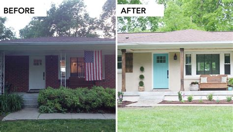 House Exterior Design Before And After by Before And After Exterior Makeover Studio Design