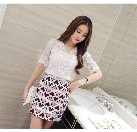 Atasan Putih baju atasan putih brokat cantik korea toko baju wanita murah goldendragonshop