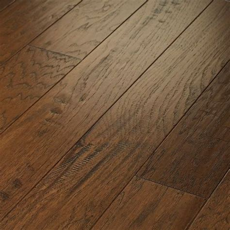 shaw floors pebble hill hickory 5 quot engineered hickory in burnt barnboard bamboo flooring