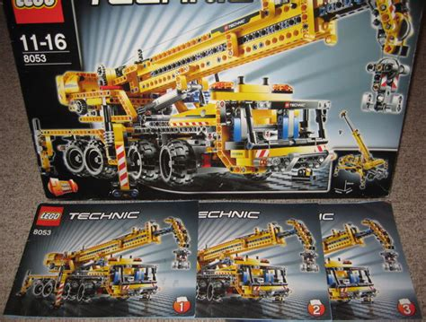 Lego Technic Mobile Crane 8053 technic 8053 8293 mobile crane power functions