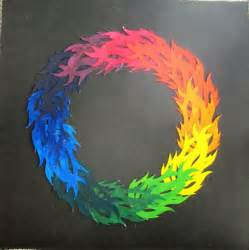color creative color wheel on 36 pins