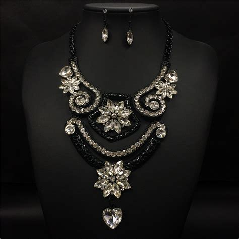 get cheap black prom jewelry aliexpress