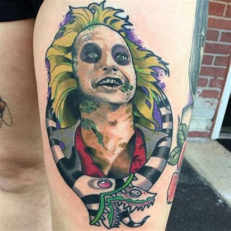 beetlejuice tattoo inked wednesday 49 beetlejuice ahsoka tano more