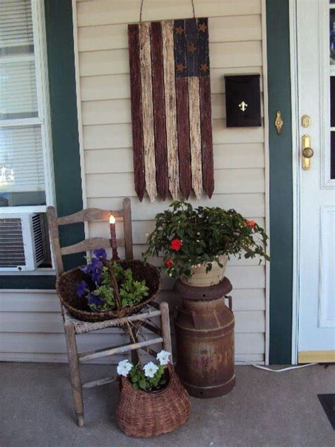 home front decor ideas front porches american flag and the nice on pinterest
