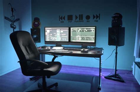 best desk setup for productivity dj workstation desk best home design 2018